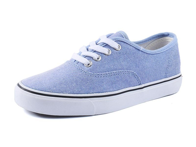 Simple Plain Women Canvas Wholesale sneakers