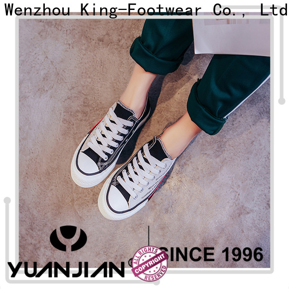King-Footwear casual skate shoes factory price for traveling