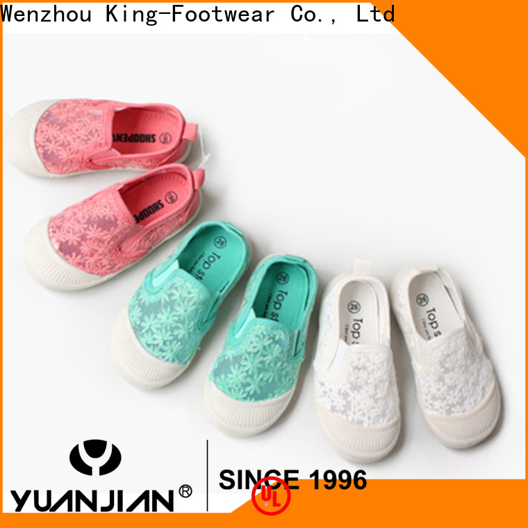 King-Footwear jeans canvas shoes promotion for school
