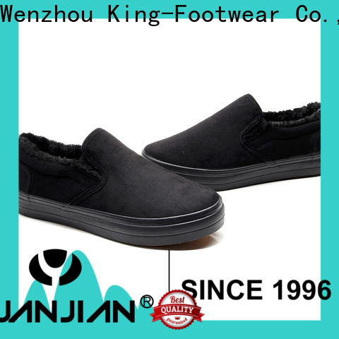 fashion slip on skate shoes supplier for traveling