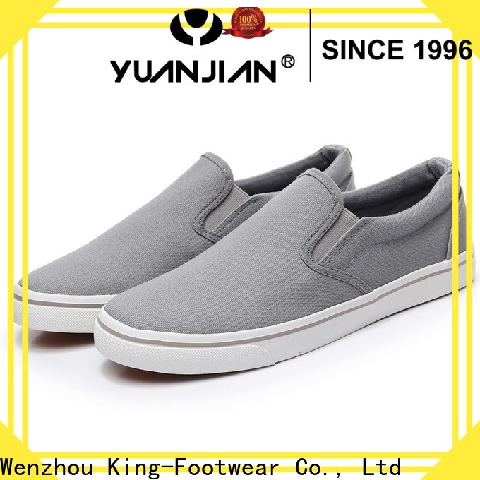 King-Footwear fashionable mens shoes supplier for schooling