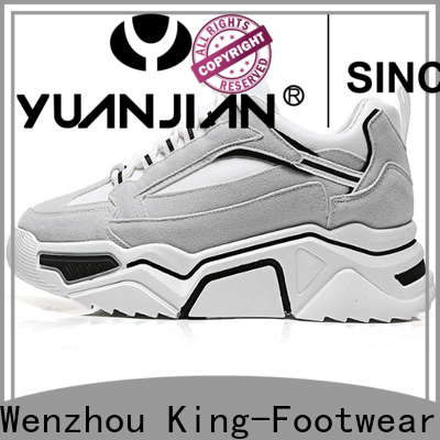 King-Footwear breathable red tennis shoes womens customized for outdoor