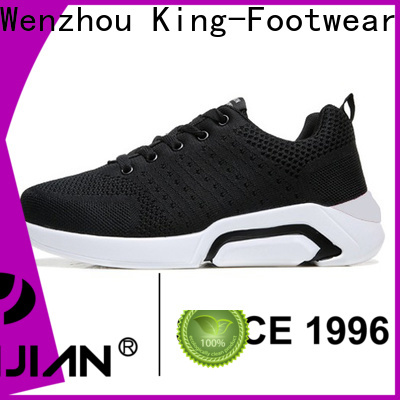 King-Footwear black tennis shoes supplier for hiking