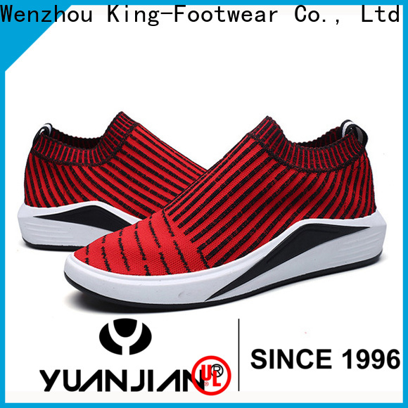 King-Footwear custom red tennis shoes supplier for exercise