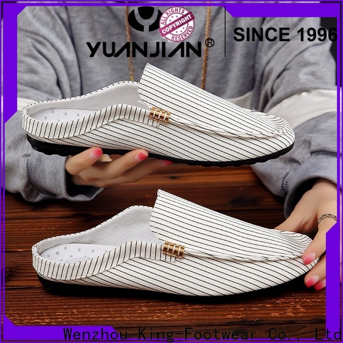 King-Footwear casual canvas shoes wholesale for daily life