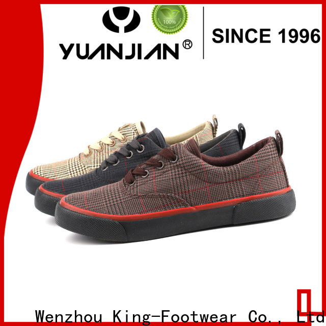 good quality ladies canvas shoes factory price for school