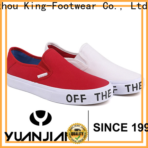 King-Footwear beautiful best canvas shoes wholesale for daily life