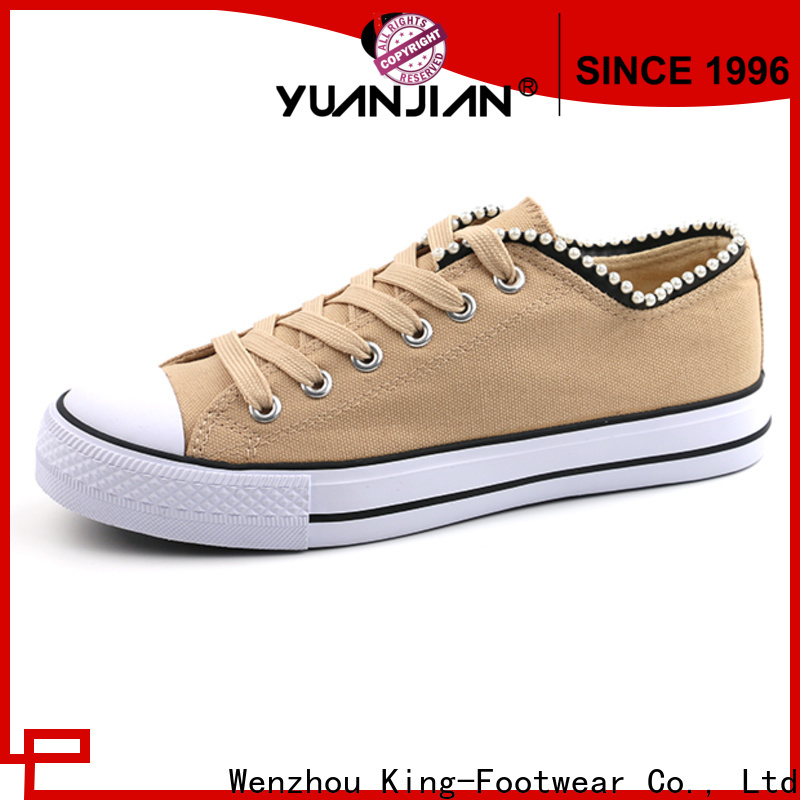 good quality leather canvas shoes factory price for travel