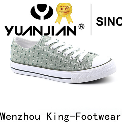 durable casual canvas shoes womens factory price for daily life