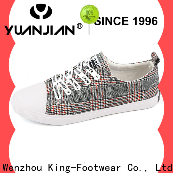 comfortable fabric sneaker supplier for women