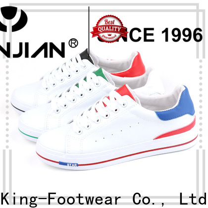 King-Footwear healthy black canvas sneakers mens wholesale for kids