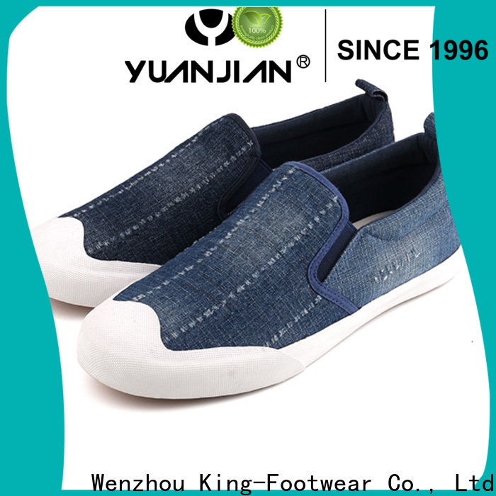 hot sell casual canvas shoes promotion for travel