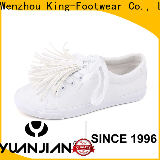 King-Footwear mens casual canvas shoes promotion for school