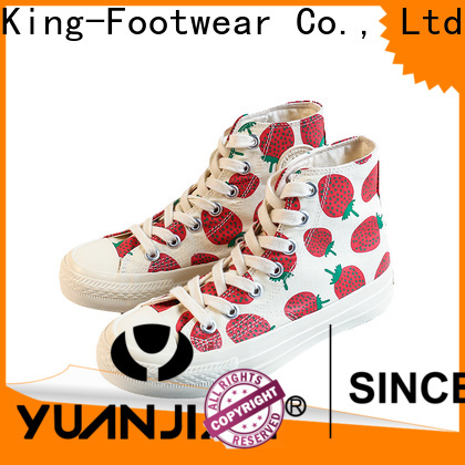 King-Footwear good quality mens canvas sneakers wholesale for working