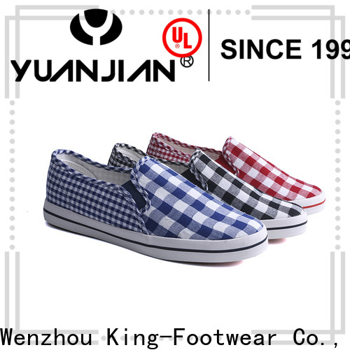 beautiful formal canvas shoes factory price for school