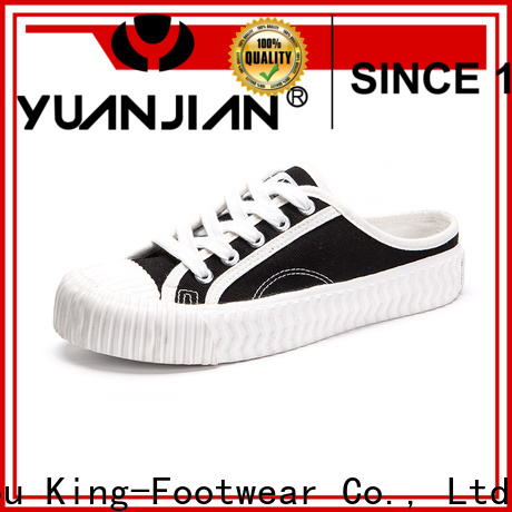 King-Footwear casual canvas shoes promotion for working