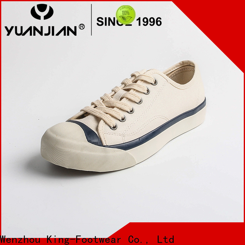 King-Footwear good quality formal canvas shoes promotion for travel