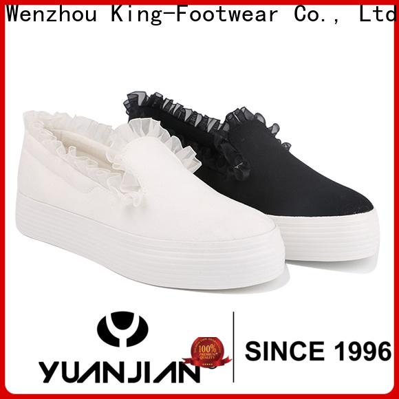 King-Footwear vulcanized sneakers factory price for schooling