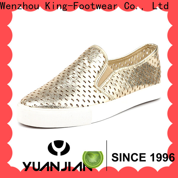 King-Footwear popular casual slip on shoes personalized for sports