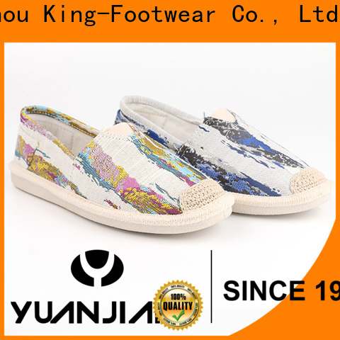 King-Footwear comfortable canvas shoes wholesale for daily life