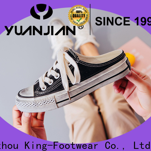 King-Footwear vulcanized rubber shoes personalized for occasional wearing