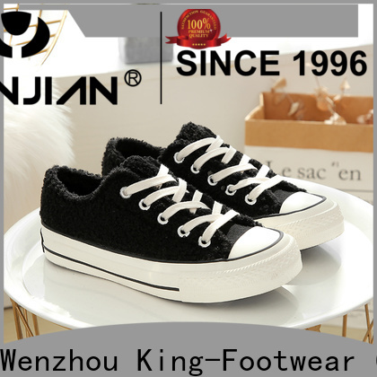 King-Footwear hot sell vulcanized sneakers design for occasional wearing
