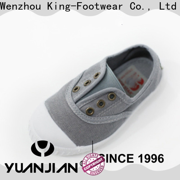 King-Footwear durable cheap canvas shoes factory price for working