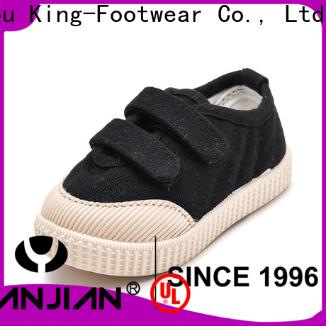 King-Footwear leather canvas shoes factory price for working