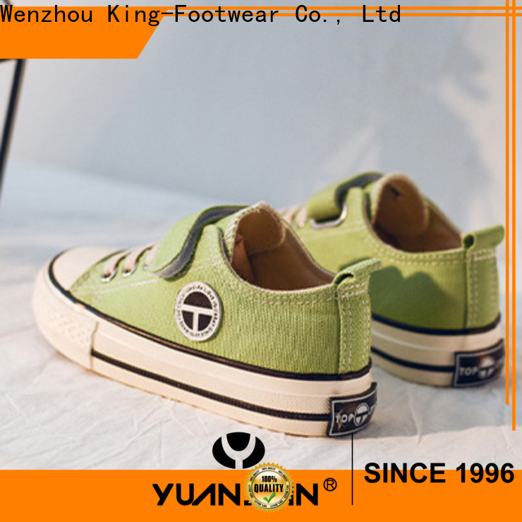 King-Footwear white toddler shoes manufacturer for baby