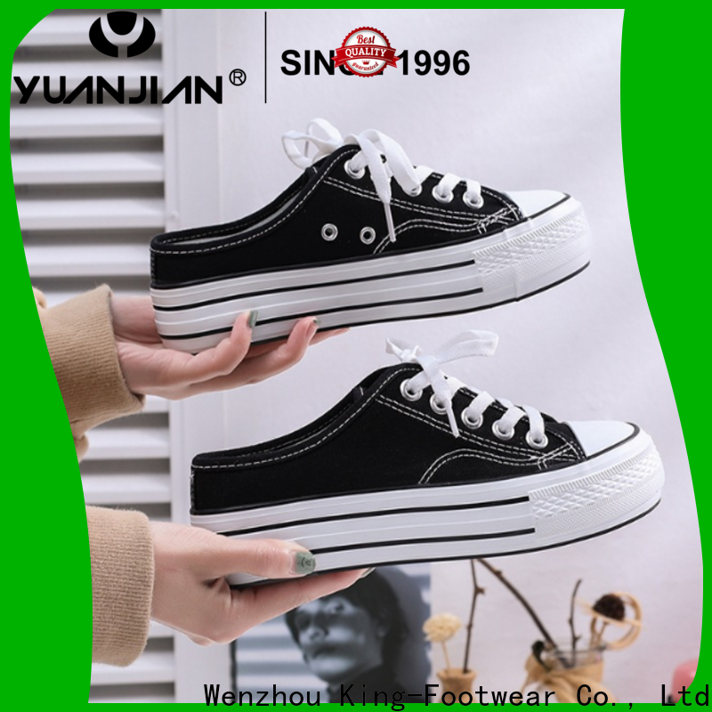 King-Footwear fashion vulc shoes factory price for traveling