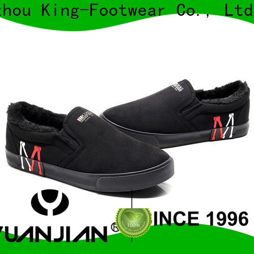 King-Footwear modern pu leather shoes factory price for schooling