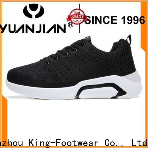 King-Footwear black tennis shoes womens factory price for hiking