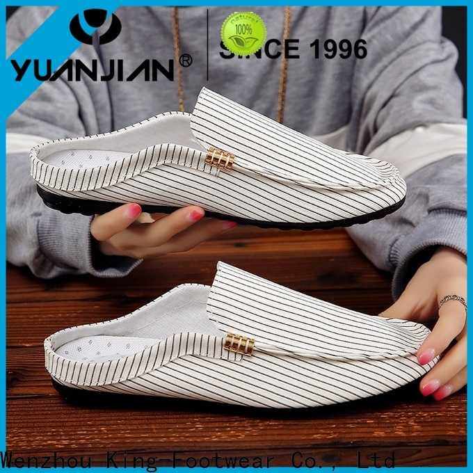 King-Footwear hot sell plain canvas shoes wholesale for school