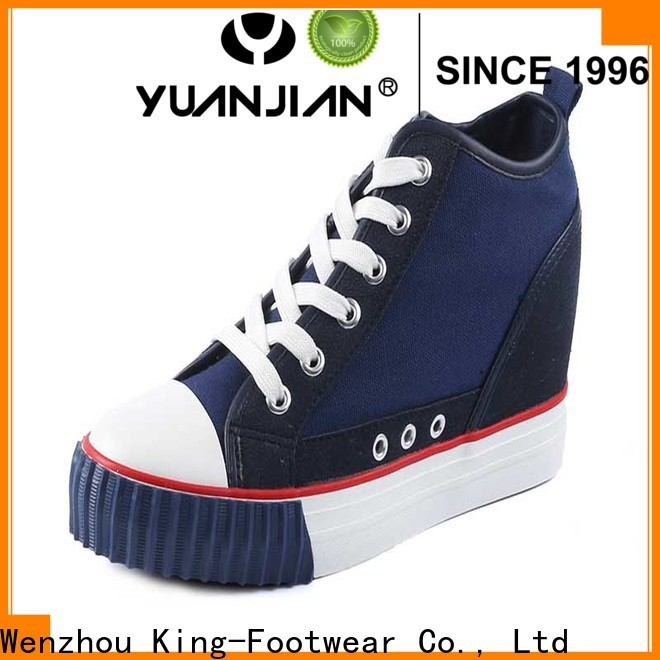 King-Footwear popular casual slip on shoes personalized for traveling