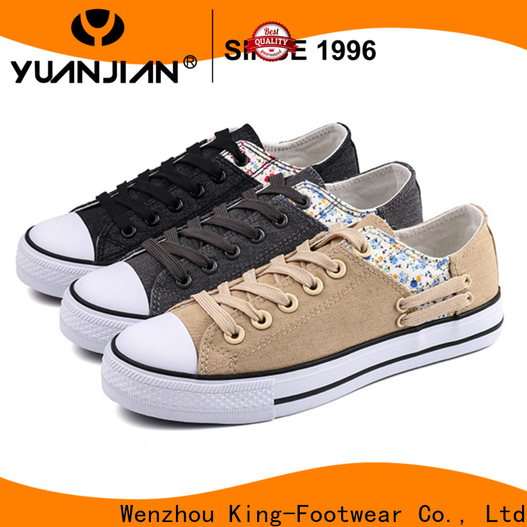 King-Footwear canvas shoes online promotion for daily life