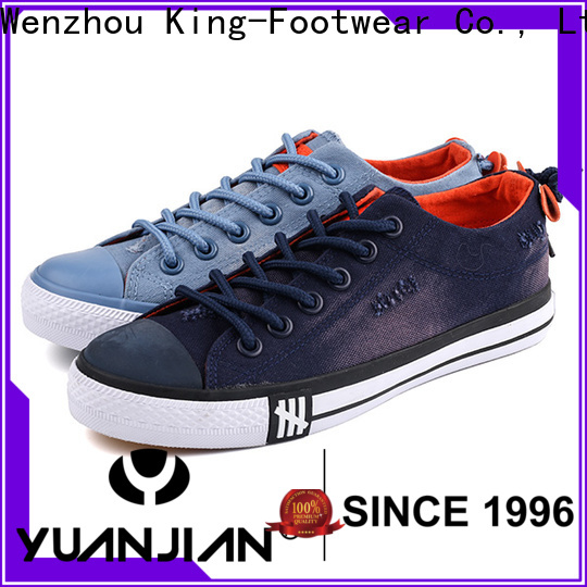 King-Footwear best mens canvas shoes factory price for working