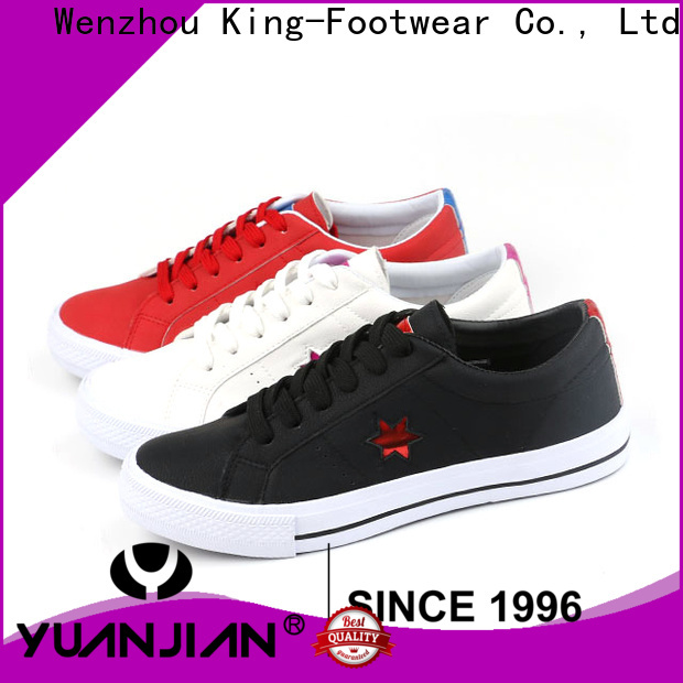 King-Footwear cheap canvas sneakers supplier for children