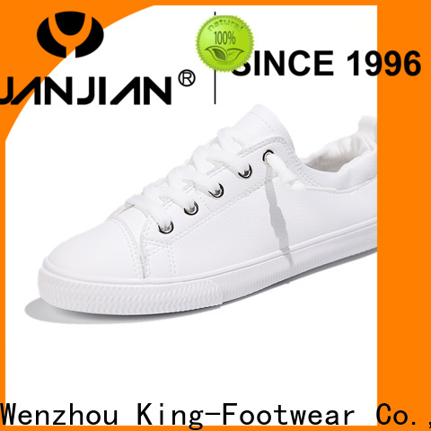 King-Footwear healthy cheap canvas sneakers supplier for children