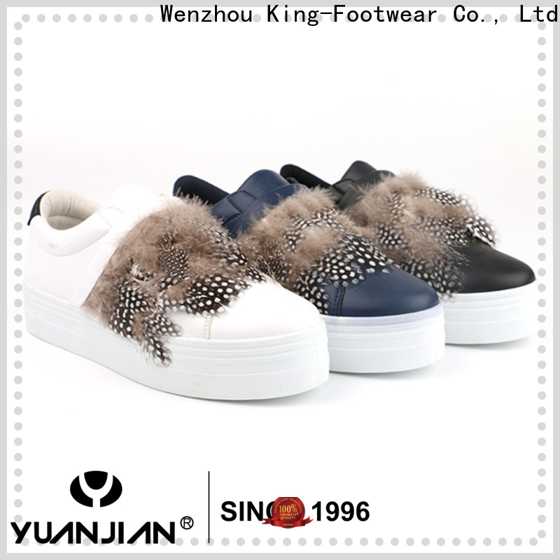 King-Footwear custom white casual shoes for business for kids