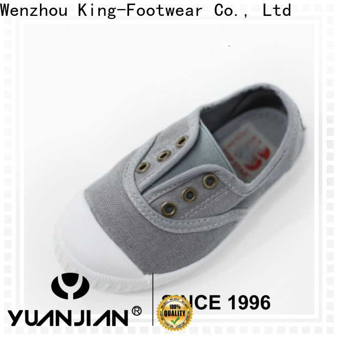 King-Footwear mens canvas slip on shoes promotion for daily life