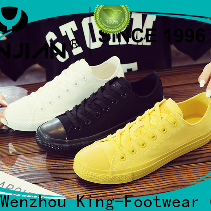 King-Footwear modern vulc shoes factory price for occasional wearing