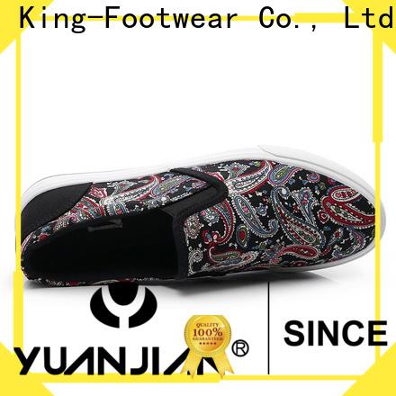 King-Footwear modern slip on skate shoes design for schooling