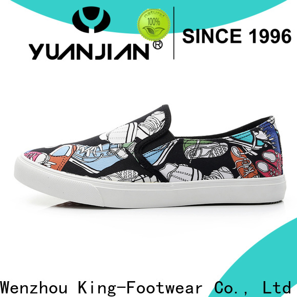 King-Footwear pu leather shoes personalized for schooling
