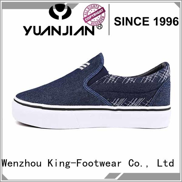 Denim low cut man's skate shoes