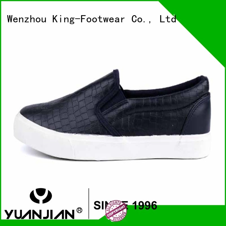 Rock grain PU rubber man sneakers