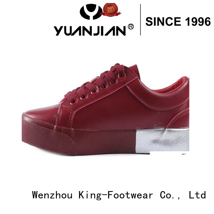 King-Footwear hot sell vulcanized sole design for traveling