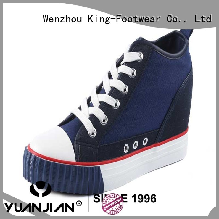 Internal elevation lady high top shoes