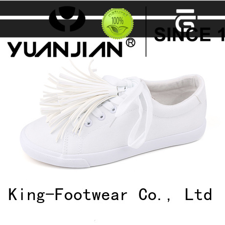King-Footwear beautiful canvas sports shoes wholesale for working