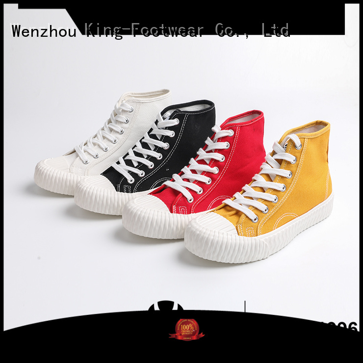King-Footwear printed canvas shoes manufacturer for working