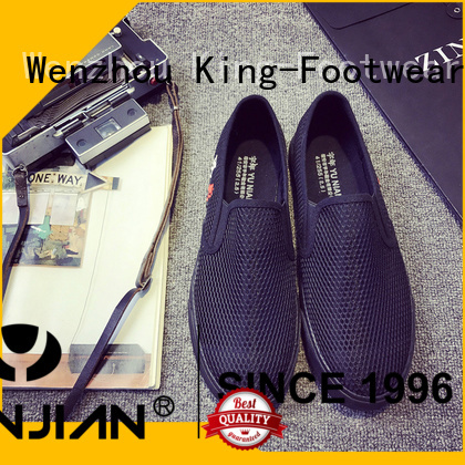 King-Footwear casual wear shoes for men factory price for schooling